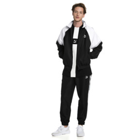 Thumbnail 3 of PUMA XTG Full Zip Men's Woven Jacket, Puma Black-Puma white, medium