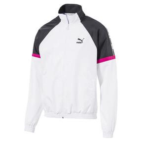Thumbnail 1 of PUMA XTG Full Zip Men's Woven Jacket, Puma White-color 90s, medium