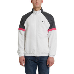 Thumbnail 2 of PUMA XTG Full Zip Men's Woven Jacket, Puma White-color 90s, medium