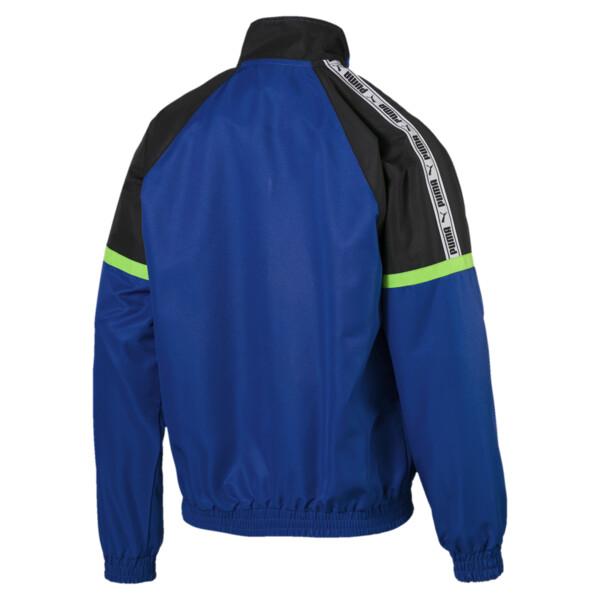 PUMA XTG Full Zip Men's Woven Jacket, Surf The Web-OG FTW, large