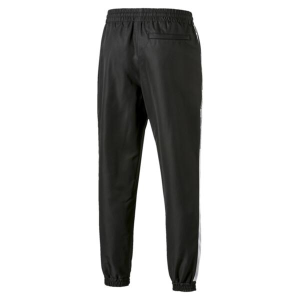 PUMA XTG Men's Woven Pants, Puma Black-Puma white, large