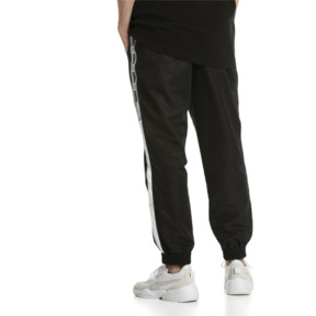 Thumbnail 2 of XTG Woven Men's Track Pants, Puma Black-Puma white, medium