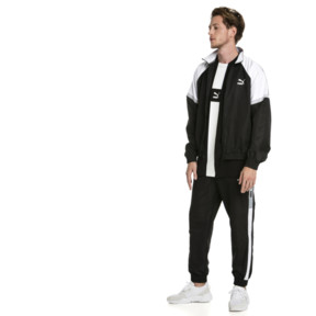 Thumbnail 3 of XTG Woven Men's Track Pants, Puma Black-Puma white, medium