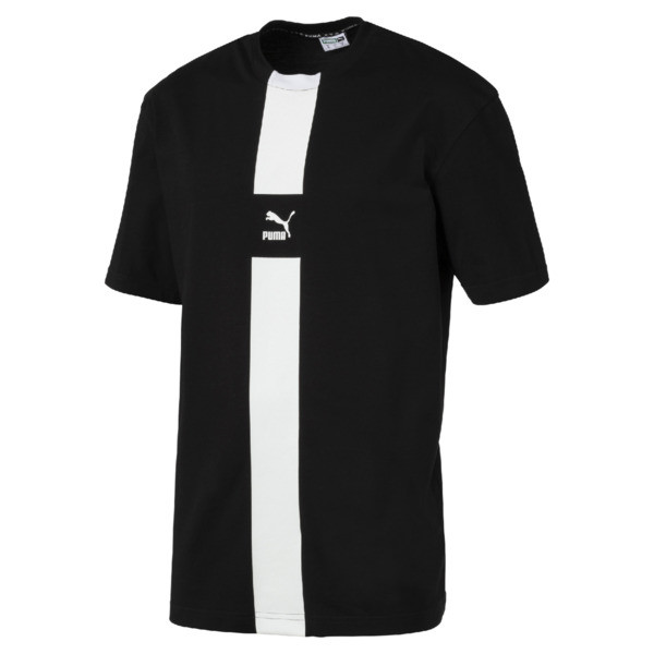 XTG T-shirt voor heren, Cotton Black, large