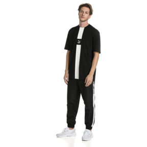 Thumbnail 3 van XTG T-shirt voor heren, Cotton Black, medium