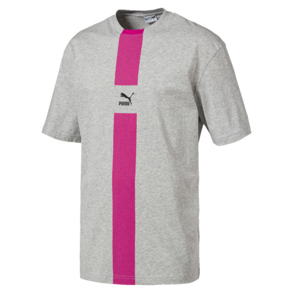 a034214e2c8 PUMA XTG Men's Tee | Light Gray Heather | PUMA T-Shirts | PUMA
