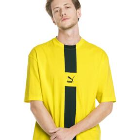 Thumbnail 2 van XTG T-shirt voor heren, Knalgeel, medium