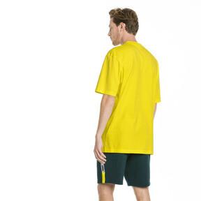 Thumbnail 3 van XTG T-shirt voor heren, Knalgeel, medium