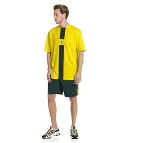 Thumbnail 5 van XTG T-shirt voor heren, Knalgeel, medium