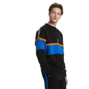 Thumbnail 1 of PUMA XTG Men's Long Sleeve Crewneck Sweatshirt, Cotton Black, medium