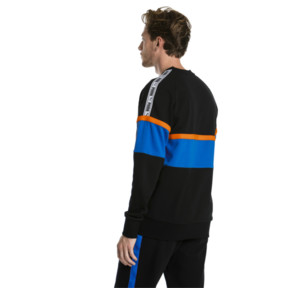 Thumbnail 2 of PUMA XTG Men's Long Sleeve Crewneck Sweatshirt, Cotton Black, medium