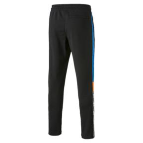 Thumbnail 5 van XTG gebreide sweatpants voor mannen, Cotton Black, medium