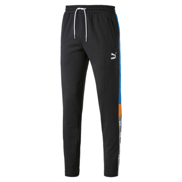 XTG gebreide sweatpants voor mannen, Cotton Black, large