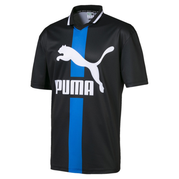 PUMA XTG Men's Polo, Puma Black, large