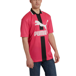 Thumbnail 2 of PUMA XTG Men's Polo, Fuchsia Purple, medium