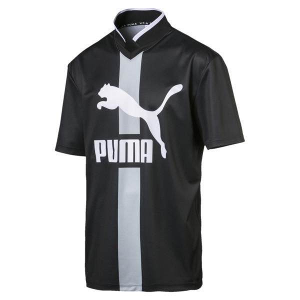PUMA XTG Men's Polo, Puma Black -1, large