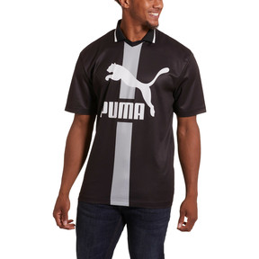 Thumbnail 2 of PUMA XTG Men's Polo, Puma Black -1, medium