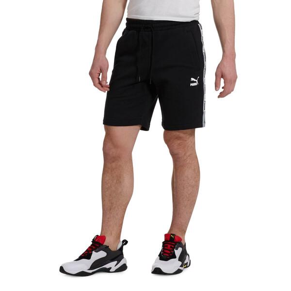 PUMA XTG Men's Shorts, Cotton Black-Puma white, large