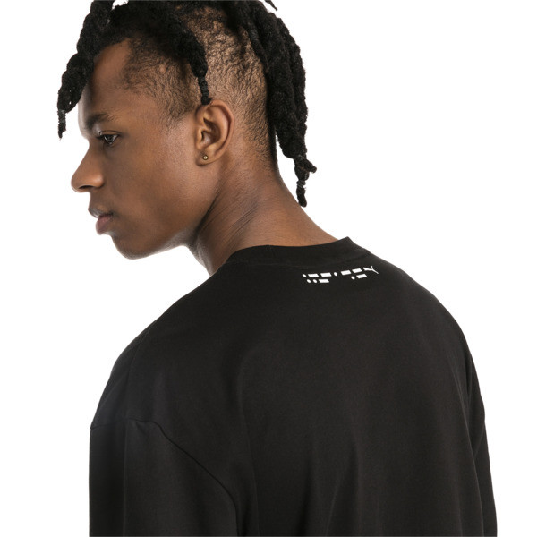 Epoch T-shirt voor heren, Cotton Black, large
