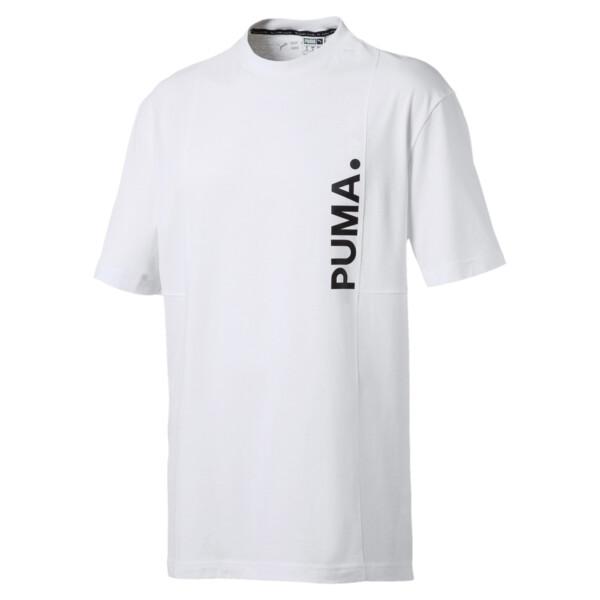 Epoch T-shirt voor heren, Puma White, large