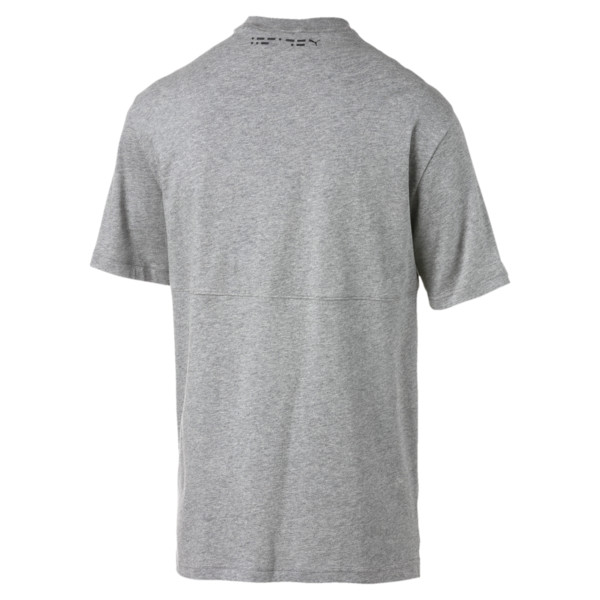 Epoch T-shirt voor heren, Medium Gray Heather, large