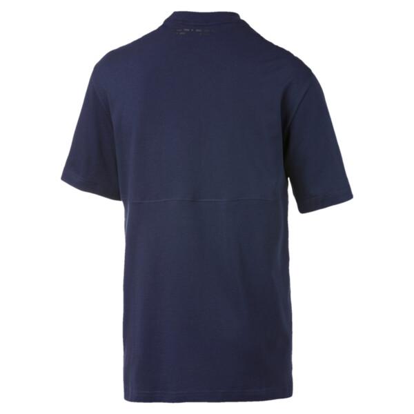 Epoch T-shirt voor heren, Nachtblauw, large