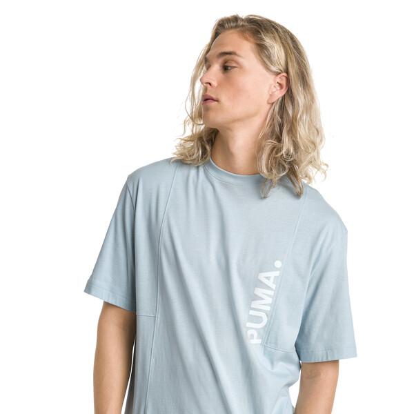 Epoch T-shirt voor mannen, Light Sky, large
