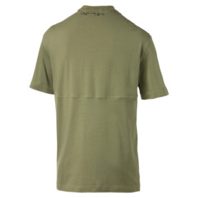 Thumbnail 4 van Epoch T-shirt voor mannen, Olivine, medium