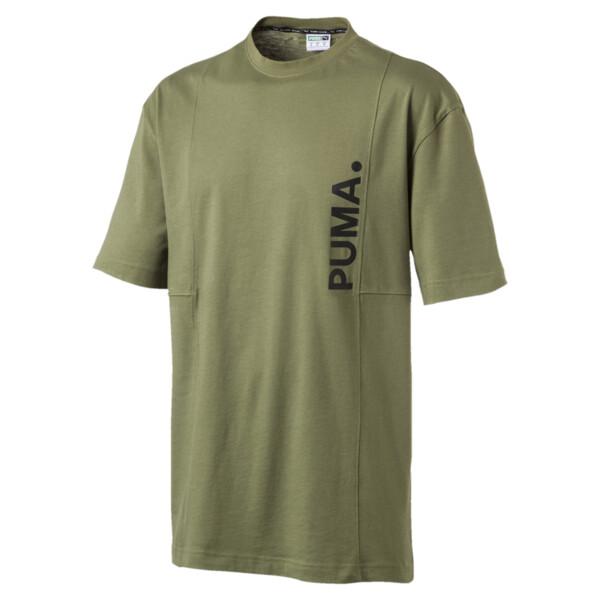 Epoch T-shirt voor heren, Olivine, large