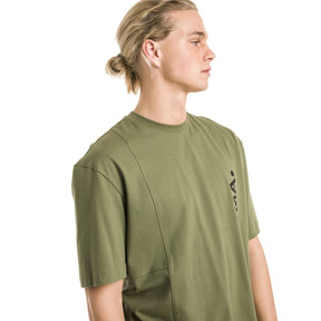 Thumbnail 2 van Epoch T-shirt voor mannen, Olivine, medium