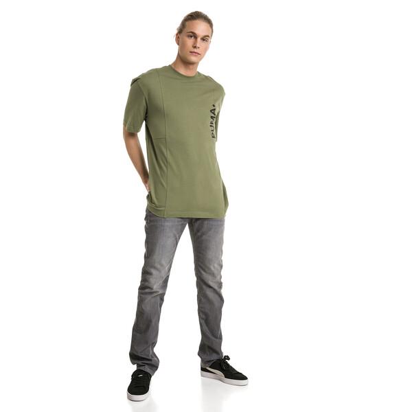 Epoch T-shirt voor mannen, Olivine, large