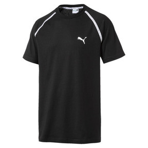 Thumbnail 1 van Epoch T-shirt met korte mouwen voor mannen, Cotton Black, medium