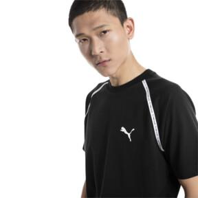 Thumbnail 2 van Epoch T-shirt met korte mouwen voor mannen, Cotton Black, medium