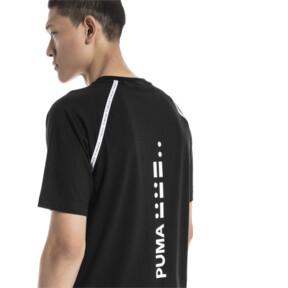 Thumbnail 3 van Epoch T-shirt met korte mouwen voor mannen, Cotton Black, medium