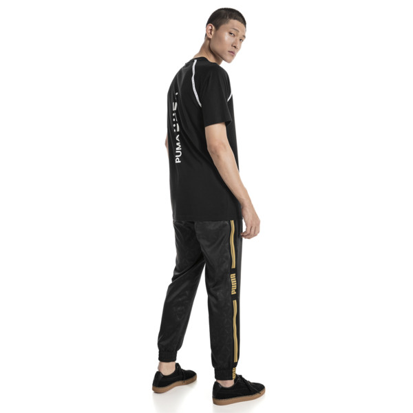 Epoch T-shirt met korte mouwen voor mannen, Cotton Black, large