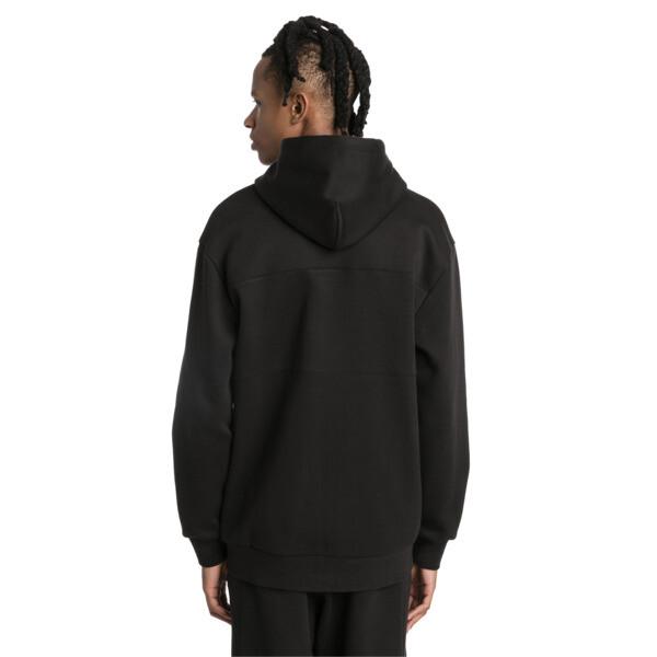 Epoch Full Zip Men's Hoodie, Cotton Black, large