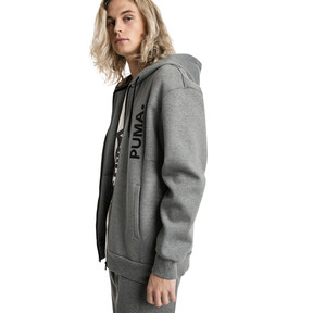 Thumbnail 2 of Epoch Full Zip Men's Hoodie, Medium Gray Heather, medium