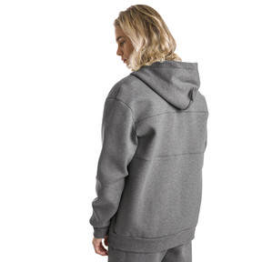 Thumbnail 3 of Epoch Full Zip Men's Hoodie, Medium Gray Heather, medium