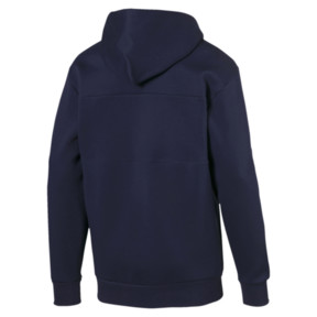 Thumbnail 4 of Epoch Full Zip Men's Hoodie, Peacoat, medium