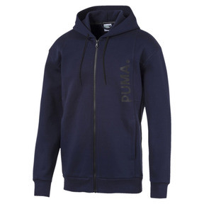 Thumbnail 1 of Epoch Full Zip Men's Hoodie, Peacoat, medium