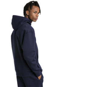 Thumbnail 3 of Epoch Full Zip Men's Hoodie, Peacoat, medium