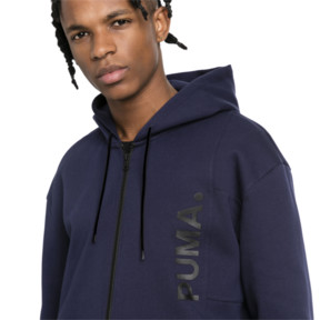 Thumbnail 6 of Epoch Full Zip Men's Hoodie, Peacoat, medium
