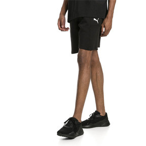 "Thumbnail 1 of Epoch Knitted Men's 8"" Shorts, Cotton Black, medium"