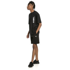 "Thumbnail 3 of Epoch Knitted Men's 8"" Shorts, Cotton Black, medium"