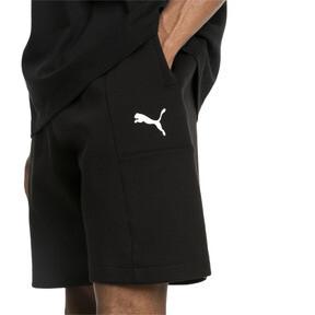 "Thumbnail 4 of Epoch Knitted Men's 8"" Shorts, Cotton Black, medium"
