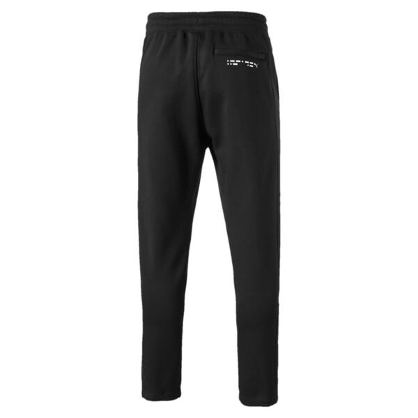 Epoch Men's Open Hem Pants, Cotton Black, large
