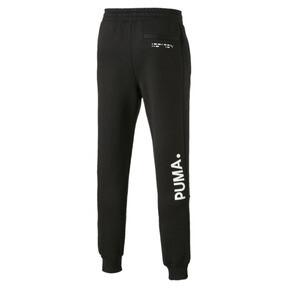 Thumbnail 5 van Epoch sweatpants met manchetten voor mannen, Cotton Black, medium