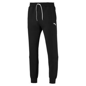 Thumbnail 4 van Epoch sweatpants met manchetten voor mannen, Cotton Black, medium