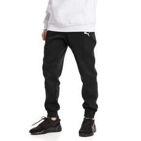 Thumbnail 1 van Epoch sweatpants met manchetten voor mannen, Cotton Black, medium