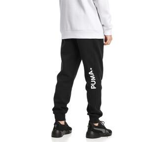 Thumbnail 2 van Epoch sweatpants met manchetten voor mannen, Cotton Black, medium